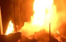 ढोरपाटनमा आगलागी हुँदा ३० घर जलेर नष्ट