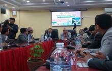 जनताको जलविद्युत कार्यक्रम अन्र्तगतको रसुवागढी र साञ्जेन जलविद्युत आयोजनामा सभामुख महरा सहभागी