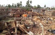 हावाहुरीले कञ्चनपुरका ८७० घरमा क्षति