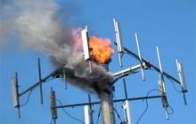 तुलसीपुरको एनसेल टावरमा अज्ञात समुहद्धार आगजनी