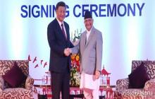 नेपाल र चीनबीच भएका २० बुँदे सम्झौतापत्रमा हस्ताक्षर