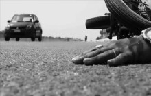 बिजुलीको पोलमा मोटरसाइकल ठोक्किदा चालक तामाङको मृत्यु