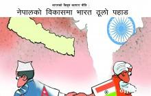 भारतको विद्युत व्यापार नीति, नेपालको विकासमा भारत ठूलो पहाड