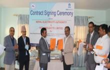 विद्युत प्रणाली सुधार गर्न भारतीय कम्पनीसँग प्रधिकरणले गर्यो ४ अर्बको ठेक्का