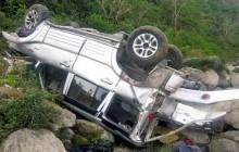 दुखद् खबरः शव बोकेको जिप दुर्घटना, पाँचको मृत्यु, पाँच घाइते