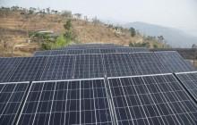 सोलारबाट ५ मेगावट क्षमता बिजुली उत्पादन हुने ९० प्रतिशत काम पुरा